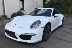Teilfolierung-Porsche-997-reparatur-Stosstange-hinten_1